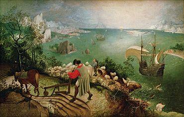 Pieter_Bruegel_de_Oude_-_De_val_van_Icarus